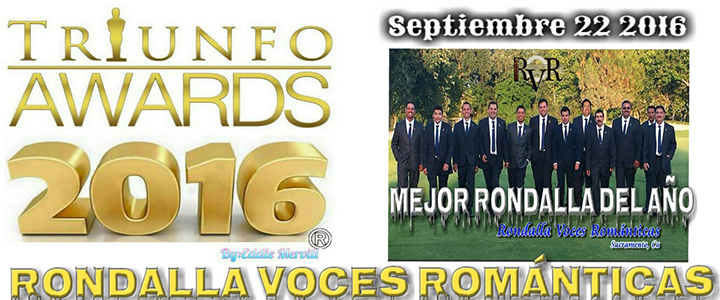 nominacion triunfos awards